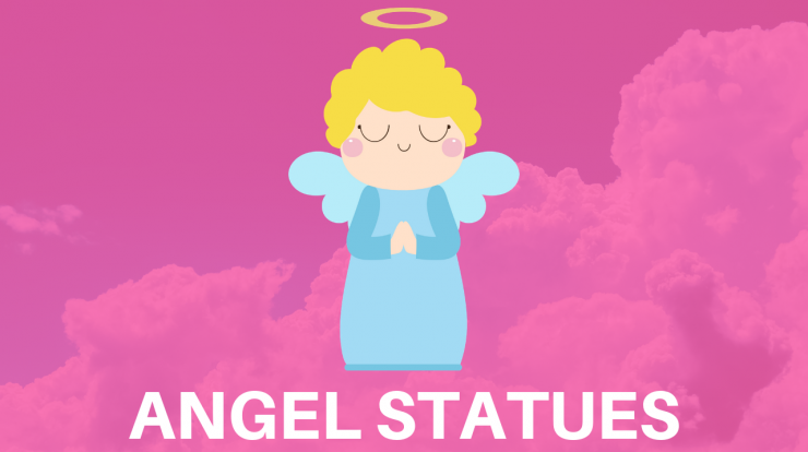 ANGEL STATUES AND FIGU