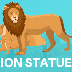 Lion Statues and figurines