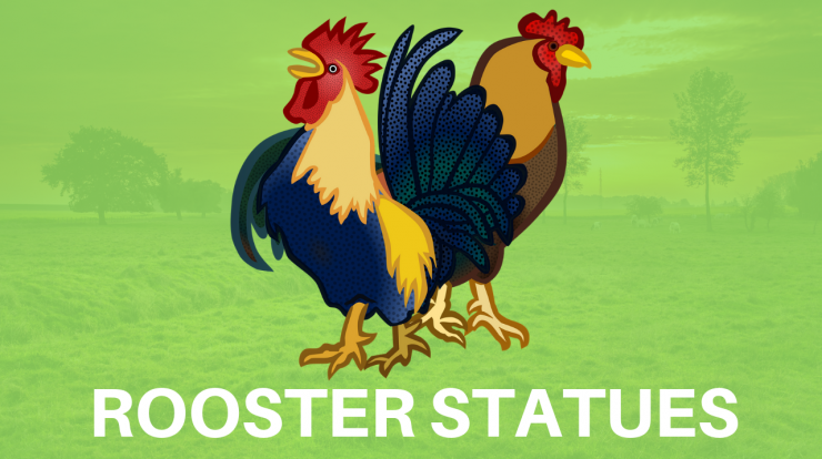 Rooster Statues and figurines